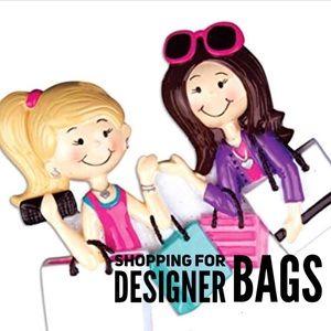 Shopping for designer handbags in my closet